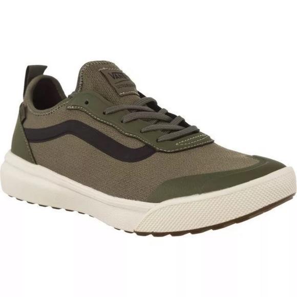 Vans ultraRange ac grape green sneaker shoes NWT